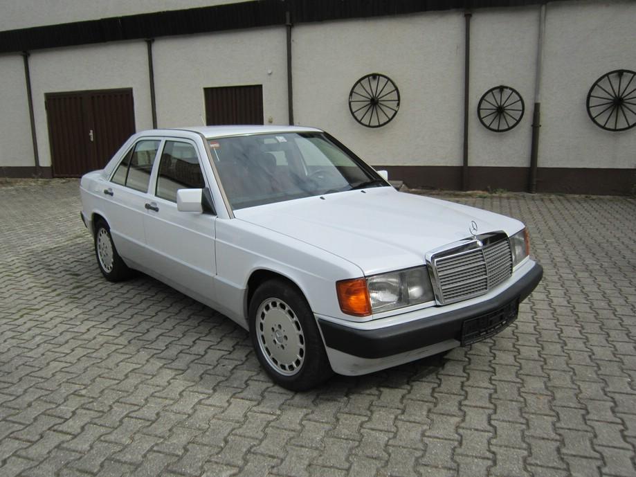Mercedes Benz Weiß